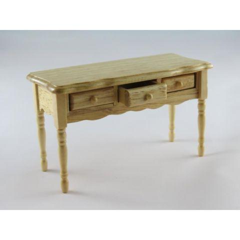 Mesa en miniatura de madera de pino