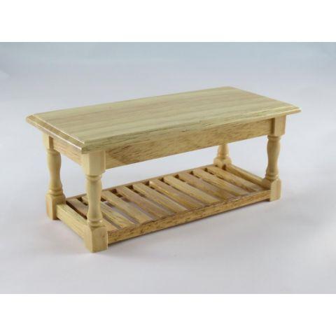 Mesa madera color pino