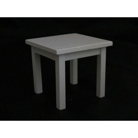 Mesa en miniatura blanca