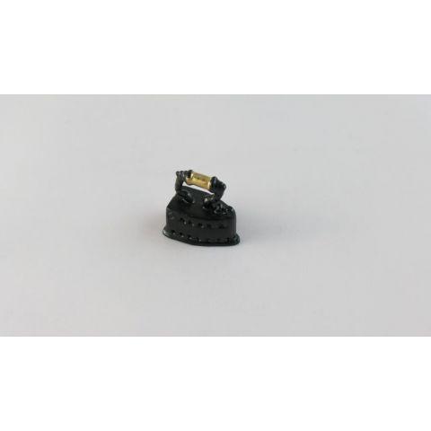 Plancha en miniatura metal/negra