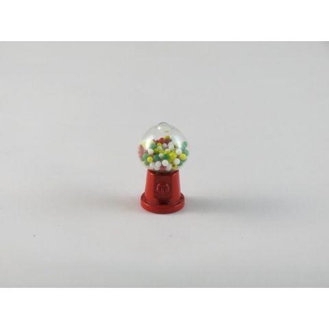 Máquina de bolas de caramelos en miniatura