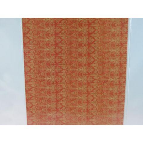 papel anaranjado 1/24