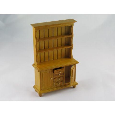 Aparador en madera color pino miel
